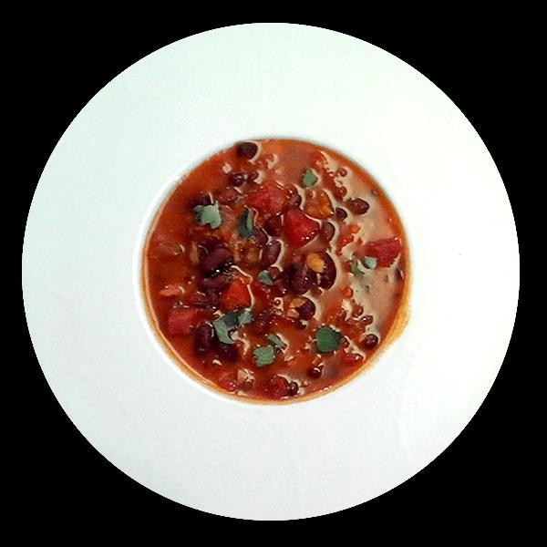 Argentinská ostrá fazolová polévka