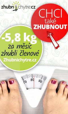 Zhubni chytře 5 kg za měsíc